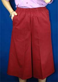 Women's Assorted Twill Culotte