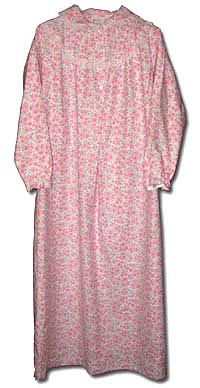Women's All Cotton Floor Length Granny Gown