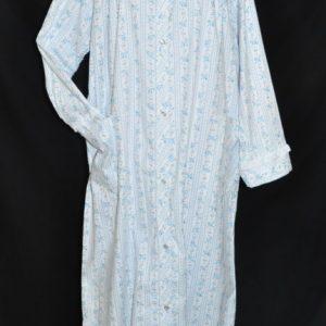1468-1469 Carole® Brand Long Sleeve Calf or Floor Length 100% Cotton  Flannel Robe 7c14eb530